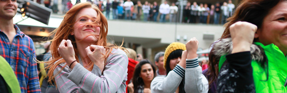 flash mob dance instructions